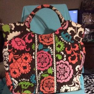 "LIKE NEW ""Vera Bradley Quilted Tote"""